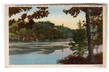 Lake Bluff Mansion & Water Tower ~Hahatonka Route 66 near Lebanon Missouri 1930s