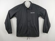 Columbia Ibex Mens Medium Waterproof Windbreaker Vented Shirt Jacket $225