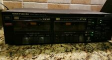 MARANTZ SD-155 High End Stereo Dual Cassette Deck Vintage Mint owner's manual