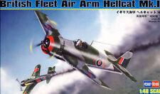 HobbyBoss British Flota Air Arm Grumman Hellcat Mk.I JV105 / 144 1944 - 1:48 kit