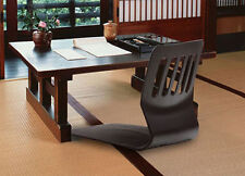 Floor Chair Tatami black chair Japanese Zaisu chair  Asian Legless Seat