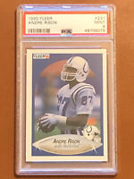 1990 Fleer Andre Rison Rookie Card #231 PSA 9 MINT RC Colts