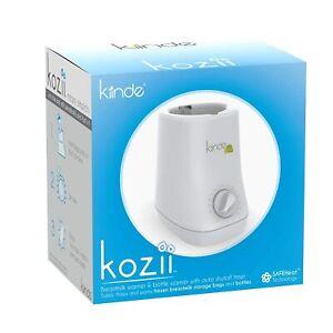 Kiinde Kozii Bottle & Breast Milk Warmer, Steam Free, Safe Heat Tech Universal