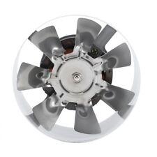 4'' 220V Silent Wall Extractor Ventilation Fan Window Bathroom Kitchen Toilet GS