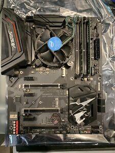 Gigabyte Z370 AORUS Ultra gaming M/Board, i5-8400 processor 16gb memory Combo