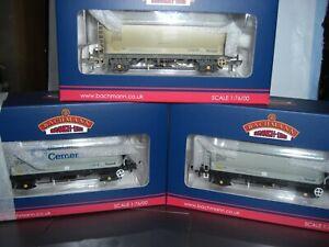 bachmann wagons x 3 PCA Metalair 38-650/38-651/38-652 MIB