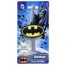 DC Comic Batman Logo Key Cap Silicone Rubber Key Holder