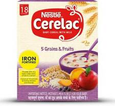 Nestle Cerelac 5 Grains & Fruits Cereal  (300 g, 18+ Months) NEW FREE SHIPPING