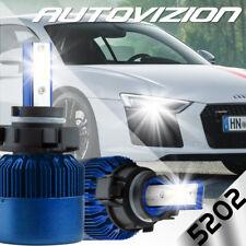 5202 9009 PSX24W H16-EU 388W 38800LM Dual-Sided LED Fog Lights Headlight Kit 6K