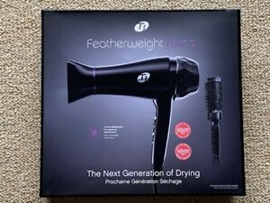 T3 Featherweight Luxe 2i Hair Dryer w/ Tourmaline Ceramic Brush New Free Ship