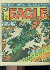 EAGLE weekly British comic book October 29 1983 VG+