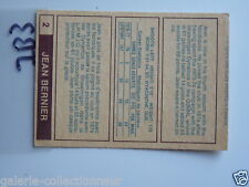 HOCKEY CARD O PEE CHEE 1977-78 WHA JEAN BERNIER QUEBEC  NORDIQUE NM TO MINNT JB3