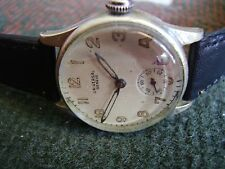 VINTAGE UNIVERSAL GENEVE  WWII MILITARY LARGE MAN WATCH-CAL262-SWISS-RUNNING