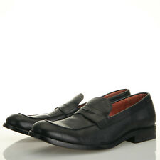 FRYE Hayden Penny Loafer Full Grain Black Leather - Mens 8.5 D