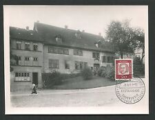 BERLIN MK 1961 204 DAUERSERIE BACH MUSIK MAXIMUMKARTE MAXIMUM CARD MC CM d1492