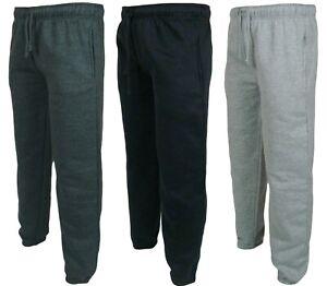 New Men's Heavy Fleece Tracksuit   Jogging Bottom Gym Sweat Jogger Pants