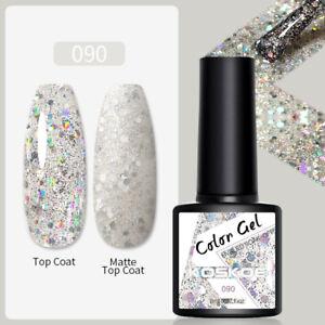 KOSKOE 8ml Esmaltes Uñas UV Gel Polish Base Top Coat Nail Art Varnish Manicure