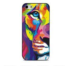 Lion Tiger leopard Wolf Plastic Hard Case iphone 4 4s 5 5s 5c SE 6 6s 6plus 7 7p