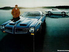 1970 PONTIAC FIREBIRD FORMULA-TRANS AM-ORIGINAL 4 PAGE AD-400 V8 engine/350/455