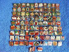 101 coca cola pins desde el año cientos de frase, conjunto completo con escudo 1886 - 1986
