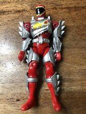 "Power Rangers Dino Super Charge Red Ranger 5"" Figure Bandai H"