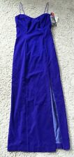 NWT De-Laru Formal Dress size 7/8 violet blue/New With Tags/Wedding/Dance/Prom