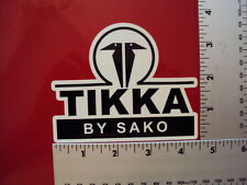 Tikka Sako 2nd Amendment Home Security Anti Obama NRA Gun window sticker decal