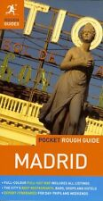 Pocket Rough Guide Madrid (Spain) *FREE SHIPPING - NEW*