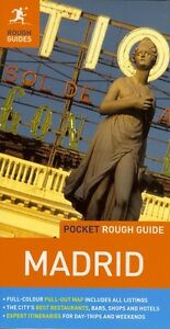 Pocket Rough Guide Madrid Spain Free shipping NEW