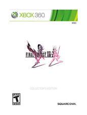 Final Fantasy XIII-2 13-2: Collector's Edition Xbox 360 + FF XIII-1 novella