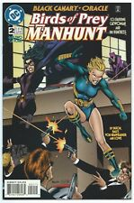 BIRDS OF PREY: MANHUNT #2 Oct 1996 DC BLACK CANARY, ORACLE, HUNTRESS & CATWOMAN