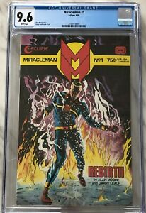 MIRACLEMAN #1 - CGC 9.6 (White Pages) | Alan Moore | Eclipse 1985