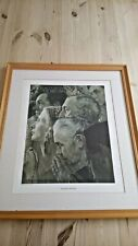1943 Norman Rockwell 'Freedom to Worship' by Curtis Publishing Company F&G 31x41