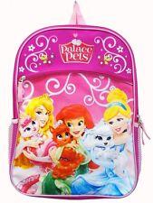 "Disney Princess and Palace Pets 16"" Backpack School Bag #354636"