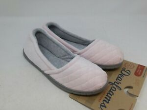 Dearfoams Women's Pink Slippers Size 5-6 US
