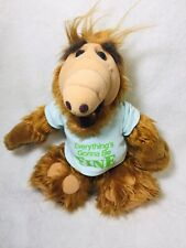 """Vintage 1988 ALF 12"""" Plush Doll Coleco Alien Productions Stuffed Animal Toy"""