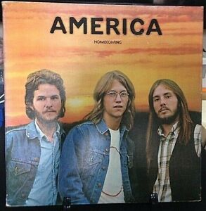 AMERICA Homecoming Tri-Fold Album Released 1972 Record/Vinyl Collection USA