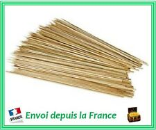 Pique Brochette Bambou Barbecue 25 cm 100 pcs