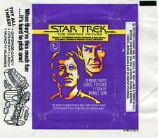 STAR TREK The Motion Picture 1979 Trading Card set Wrapper!!! Topps