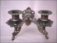 Deko-Wandkerzenhalter im Antik-Stil aus Messing