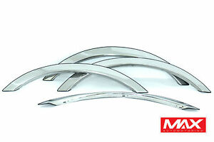FTLC201 1998-2002 Lincoln Town Car POLISHED Stainless Steel Fender Trim
