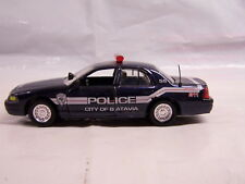 Custom Police - City of Batavia, New York (NY) - Ford Crown Vic - 1:43 Scale