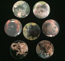7 Pogs Borden 1995 San Diego Zoo Animals & Stock Market Fred Morris