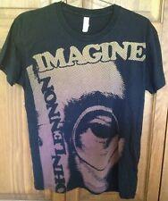 John Lennon - Imagine T-Shirt (L) Black 100% Cotton