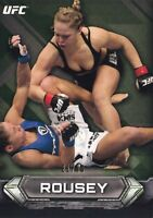 Ronda Rousey 2014 Topps UFC Knockout Green Card #31 #/99 207 157 168 175 184 190