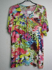 Exclusives T-Shirt  Tunika orig APRICO by CHALOU floral 46 ungetragen