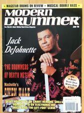 Modern Drummer magazine, Jack DeJohnette, Metal and Nashville drummers