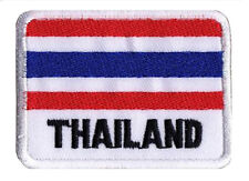 Patch écusson badge patche drapeau Thailande Thailand  70 x 45 mm