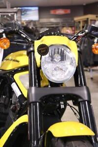 Portabotellas marr/ón Orletanos compatible con Harley Davidson marco HD marr/ón Hotrod Chopper cr/áneo moto biker Rocker Club cr/áneo hecho a mano botella de piel
