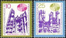 Germany 1971 Leipzig Fair/Chemical Plant/Reactor/Business/Industry 2v set n44581